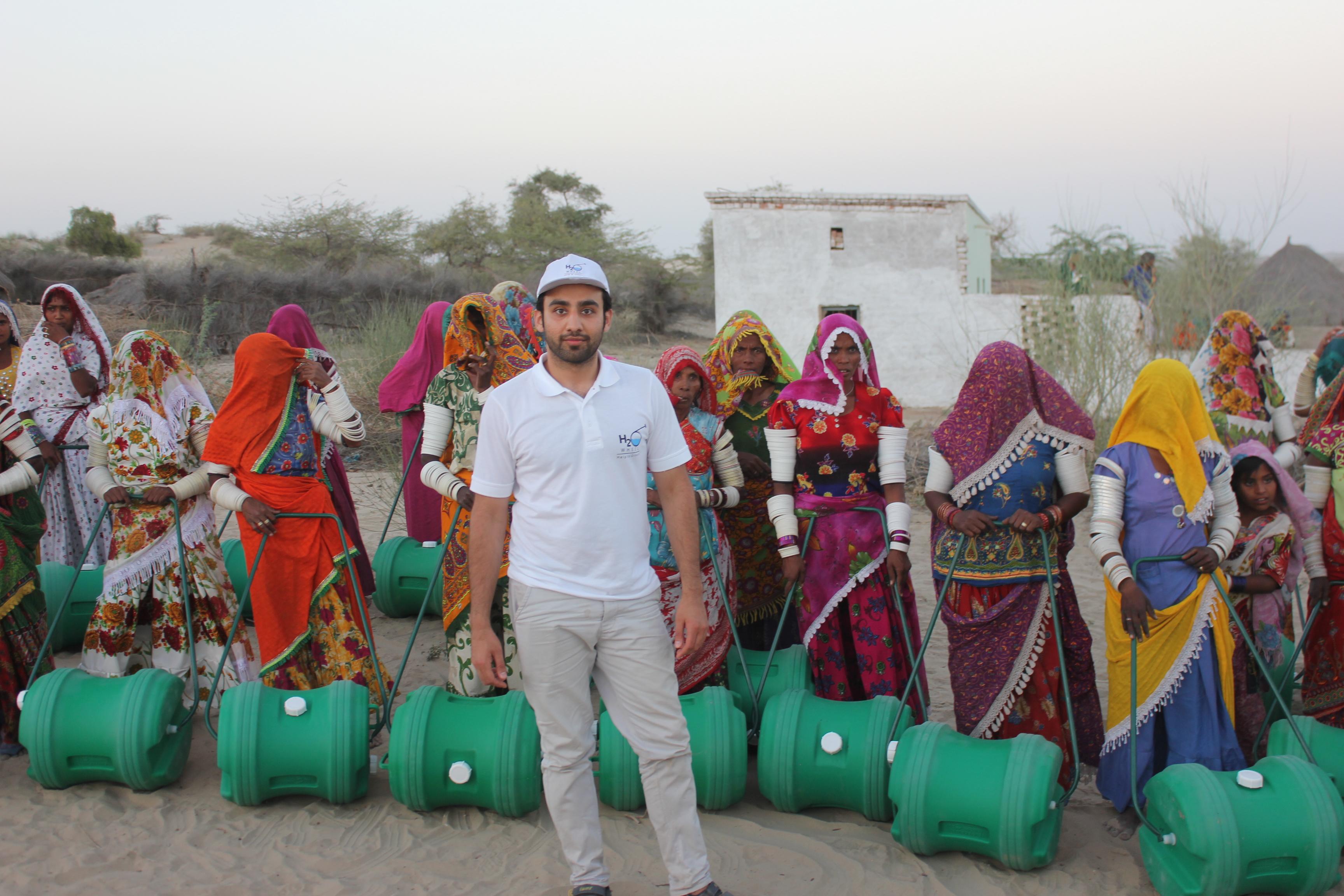 Tayaba.Org H2O Wheels  Bilal with Thar Women